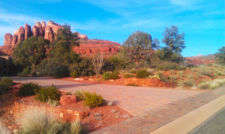 Driveway Pavers Sedona Arizona Landscape Contractor